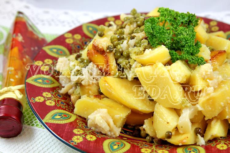 Овощное рагу в мультиварке рецепт с фото