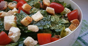 Салат со шпинатом и беконом рецепт с фото