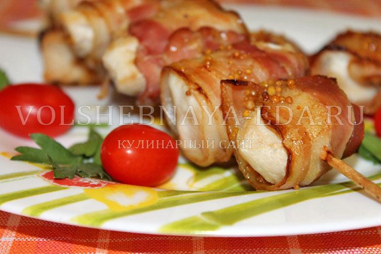 Курица шашлык в духовке с картошкой рецепт с фото