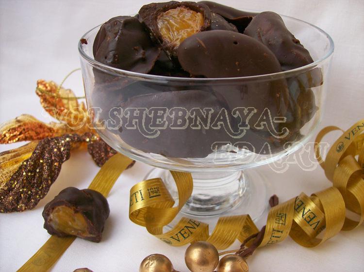 Мандарин в шоколаде рецепт с фото