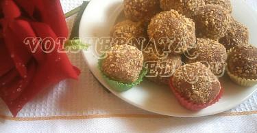 Трюфели с шоколадной пастой рецепт