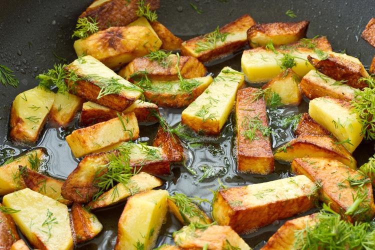 Как пожарить картошку правильно - все секреты жареной картошки