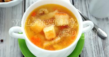 Гороховый суп в мультиварке со свининой