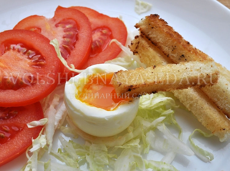 Иделаьные яйца всмятку рецепт с фото