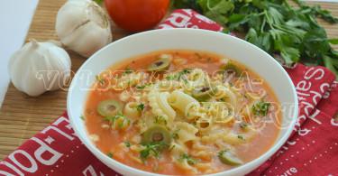 Томатный суп-пюре рецепт