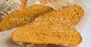 Хлеб с вялеными томатами и крем-чизом