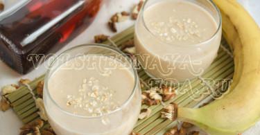 Коктейль на ореховом молоке