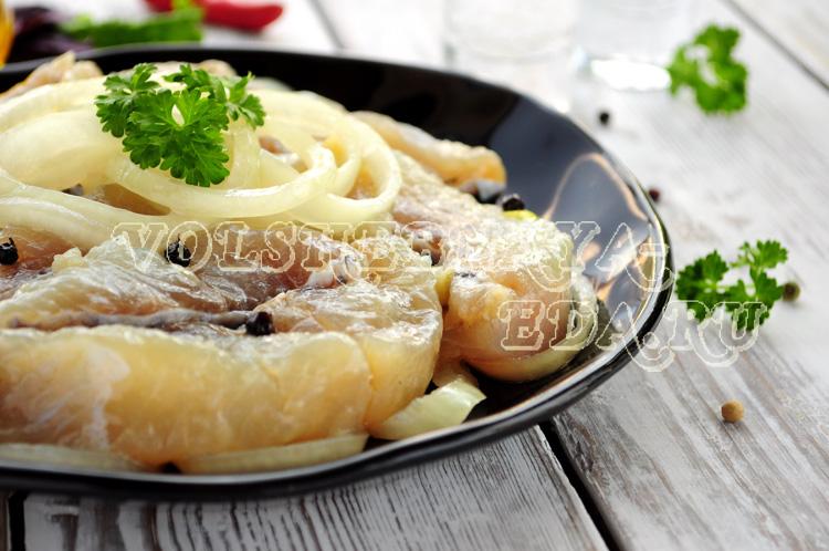 Маринованная щука рецепт с фото