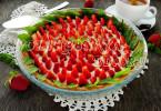 Творожно-клубничный тарт рецепт с фото