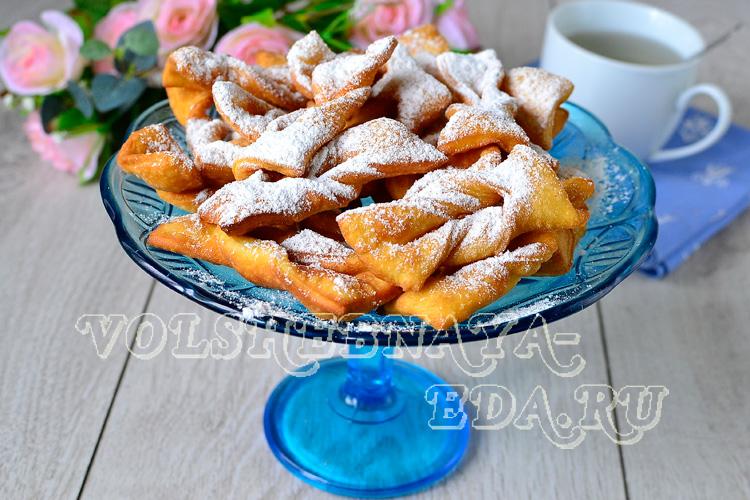Печенье хворост