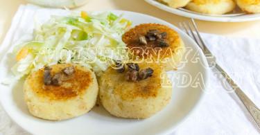 Картофельные зразы с