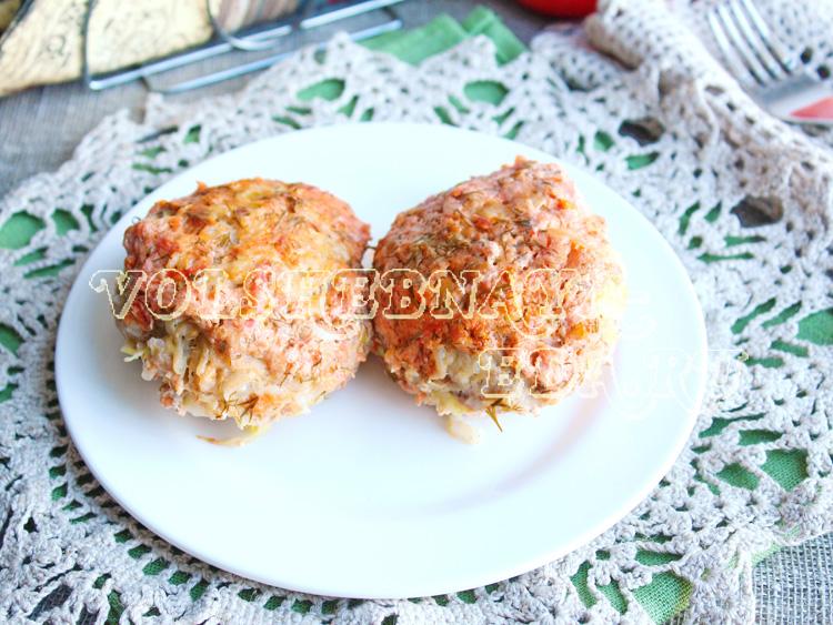 Ленивые голубцы в духовке рецепт с фото