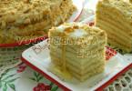 """Торт """"медовик"""" пошаговый рецепт с фото"""
