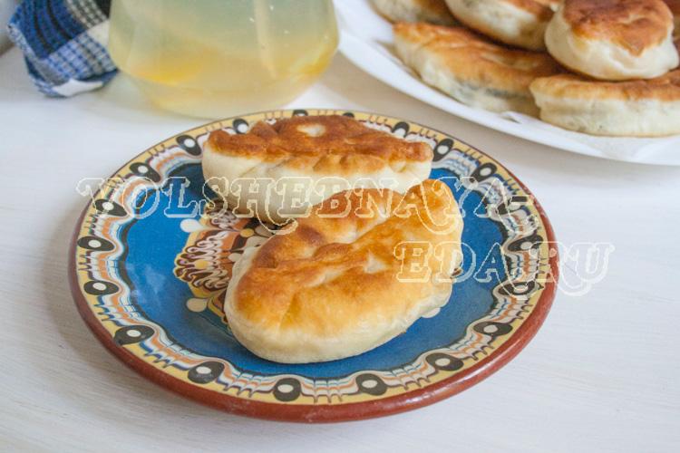 Пирожки с щавелем
