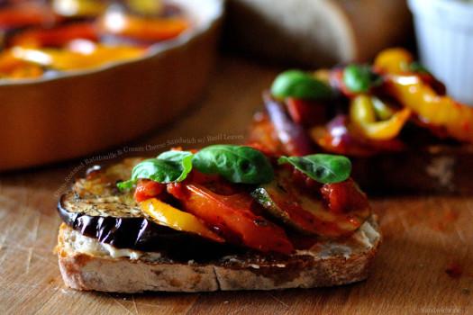 Бутерброды-рататуй