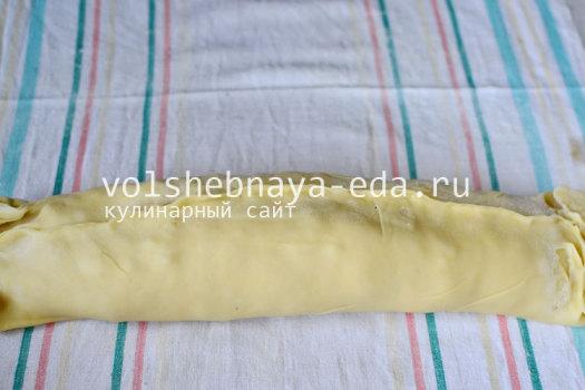 Вишневый штрудель в домашних условиях, пошаговый рецепт с фото