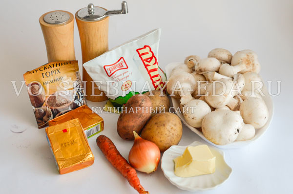 gribnoj sup s syrom i slivkami 1