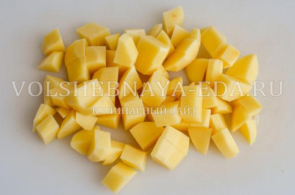gribnoj sup s syrom i slivkami 2