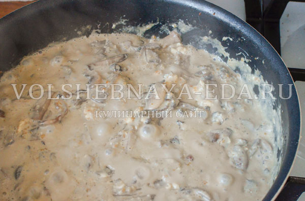 gribnoj sup s syrom i slivkami 9