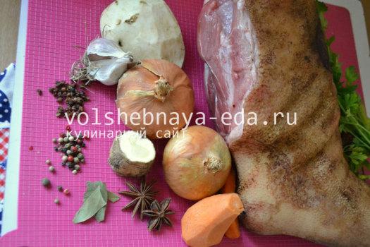 """Рулька """"Праздничная"""" – кулинарный рецепт"""