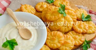 Чипсы из пюре картофеля