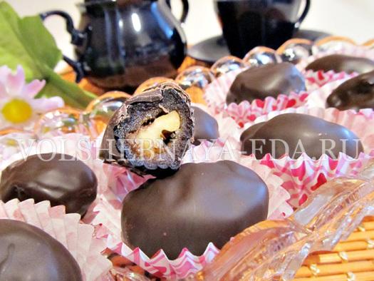 Чернослив в шоколаде - пошаговый рецепт с фото