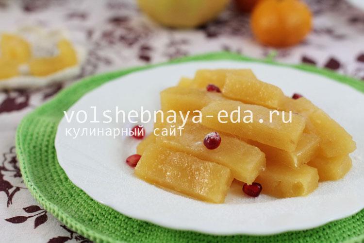 Конфеты из яблок