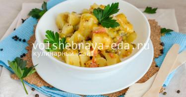 Картофельный салат с горчицей по-американски