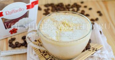 """рецепт кофе """"Рафаэлло"""""""