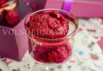 мороженое на рисовой основе с ягодами