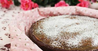 Пирог шоколадно-свекольный
