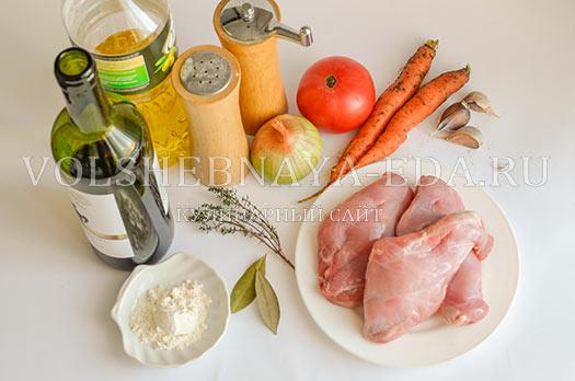 """Кролик """"Праздничный"""" – кулинарный рецепт"""