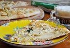 рецепт пицца с грушами и голубым сыром