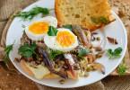 рецепт сэндвича с зеленой чечевицей и рыбой