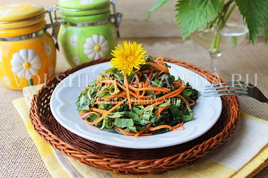 Salat-iz-krapivy-i-listev-oduvanchika-8