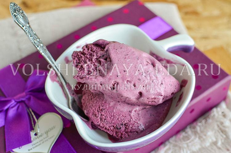 рецепт мороженое с чесноком