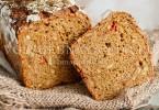 рецепт ржаной хлеб с добавками