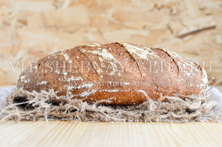 Хлеб с копченым сыром