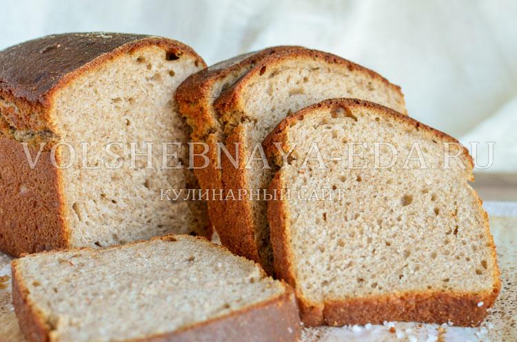 Простой серый хлеб
