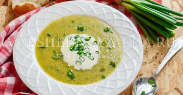 Кабачковый суп-пюре в мультиварке