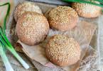 Цельнозерновые булочки для бургеров