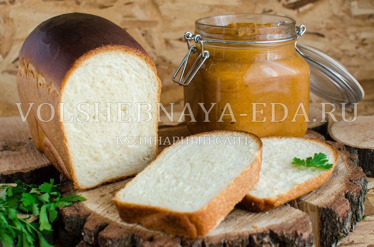 Молочный заварной хлеб
