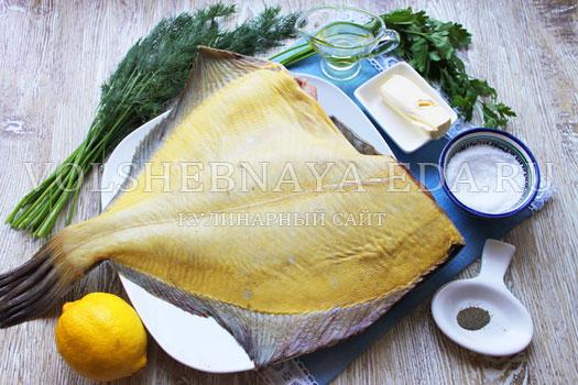 Как приготовить камбалу вкусно в духовке целиком в фольге