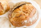 Хлеб белый с отрубями на закваске