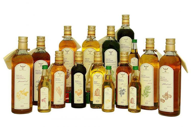 Малоизвестный растительные масла