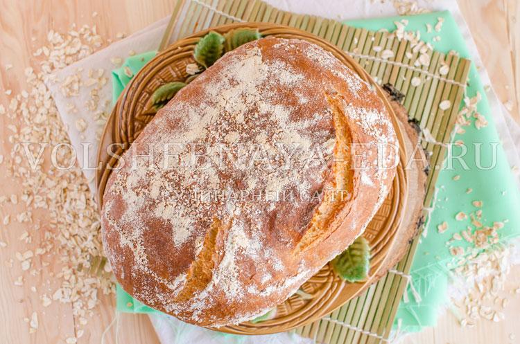 Хлеб из овсяной каши