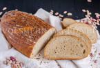 Фасолевый хлеб на остатках закваски