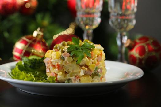 Рецепты салата Оливье - самые вкусные и проверенные с фото