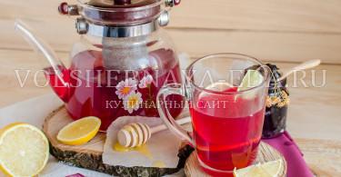 Пряный смородиновый чай