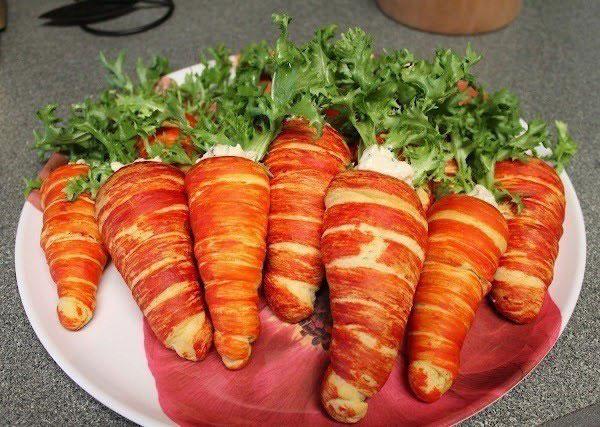 "... или закрутим трубочки с кремом-""морковки"""